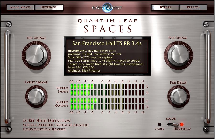 """The Quantum Leap Spaces Interface"""